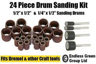 drum sanding kit ideal tool for dremel rotary tools time