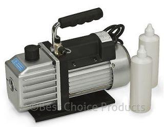 Stage 3.9 CFM 1/3HP Rotary Vane Deep HVAC Tool For AC R410a R134