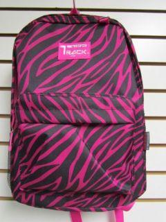 PINK ZEBRA Backpack School Pack Bag 205 Back Pack  New