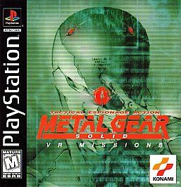 Metal Gear Solid VR Missions Sony PlayStation 1, 1999
