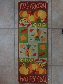 Halloween Autumn Thanksgiving Table Runner Tablerunner Mantle Scarf