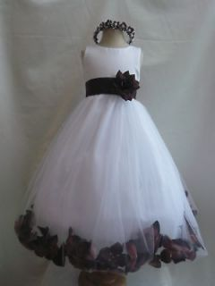 brown flower girl dresses in Wedding & Formal Occasion
