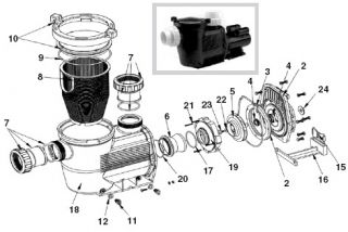 waterco replacement parts