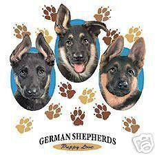 puppy love german shepherd tote  8 99