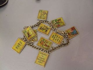 ten commandments charm bracelet in Jewelry & Watches