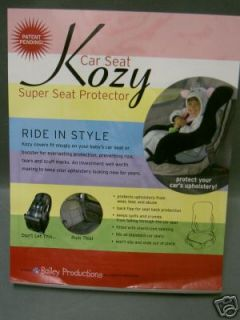 newly listed kozy child car super seat protector brand new