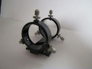 Telescope 30mm Low Profile two ring, six screw, Metal Finder Bracket