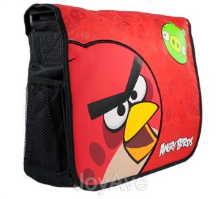 Rovio Angry Birds 14 Red Bird/ Green Pig Messenger Bag Shoulder