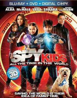Spy Kids All the Time in the World Blu ray DVD, 2011, 3 Disc Set