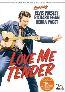 Love Me Tender DVD, 2006, Widescreen Special Edition