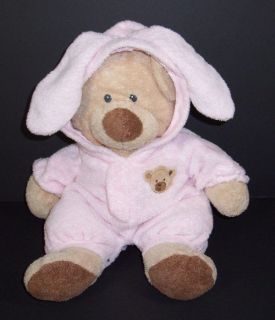 Pluffies PJ Bear Non Removable Pajamas 12 Love To Baby Plush Bunny