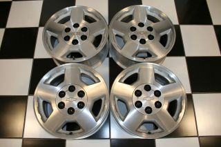 CHEVROLET SILVERADO SUBURBAN TAHOE 17 WHEELS / RIMS 5196 (Set of 4)