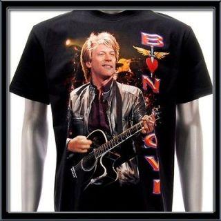 sz xl bon jovi t shirt vtg retro hard rock band tour