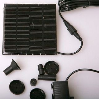 Solar Panel Water Pump Power Kit Fountain Home Garden Pond Submersible