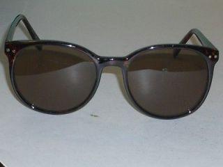 liz claiborne cherry tortoise round brown lens sunglasses