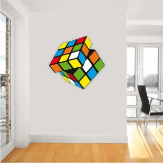 Rubiks Cube is a 3 D mechanical puzzle Wall Decor Interior Sticker 22