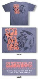 scorpions tour shirt in Clothing,
