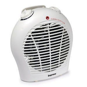 1500 watt Space Heater with a Quiet Fan and Adjustable Thermostat