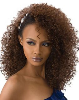 Outre Quick Weave Synthetic Hair Half Wig   EVONY