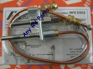 atwood rv water heater pilot assembly 91603