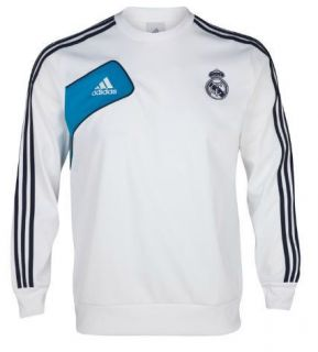 ADIDAS REAL MADRID TRAINING SWEAT TOP 2012 13 MENS 100% AUTHENTIC