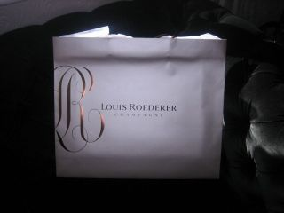 Louis Roederer Cristal Large Champagne Gift Bag For a magnum bottle