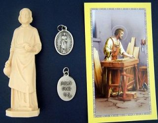 St Joseph Statue Home Seller Selling Kit Saint House Figurine