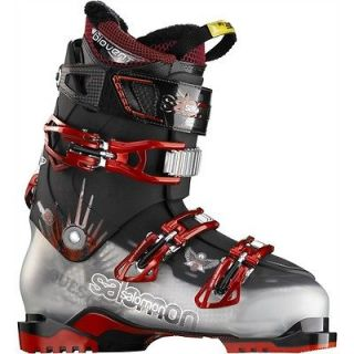 2012 Salomon Quest 8 Ski Boots Crystal/Trans/Black Size 28.5