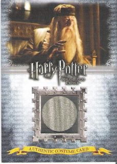 HARRY POTTER HBP HALF BLOOD PRINCE GAMBON AS ALBUS DUMBLEDORE COSTUME