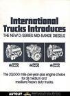 1976 international dseries diesel truck engine brochure enlarge buy it