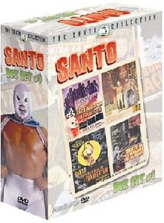 Santo Box Set 1 DVD, 2003, 4 Disc Set, The Santo Collection
