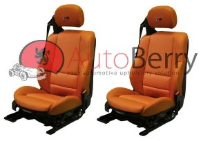 BMW 3 Series M3 E46 Replacement Upholstery Leather Seat Covers (2000