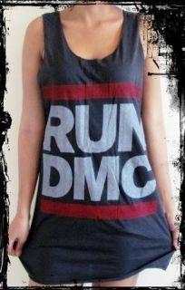Run DMC Vest** Free Size Tank Top Singlet T Shirt **Sizes S XL**