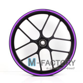 Purple Rim sticker decal wheel 17 Honda NC700 S/X HORNET 250 600
