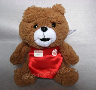Teddy Bear With Red Apron The Movie Mans Ted Bear Stuffed Plush