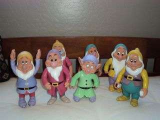 lot of 7 dwarfs from snow white disney thailand  16 95 buy