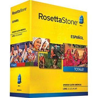 Rosetta Stone Spanish Lat Am v4 Totale Lvl 1 5 by Rosetta Stone Staff