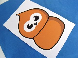 EDF ADVERT ZINGY FLAME car Sticker Bombing Decal 100x70mm Drift / Euro