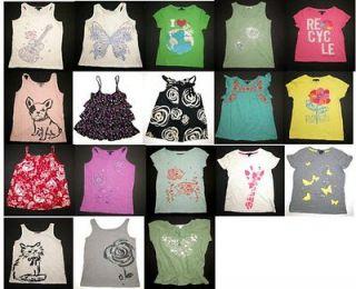 EUC Gap girl summer spring Seychelles beach coral tank top shirt tee