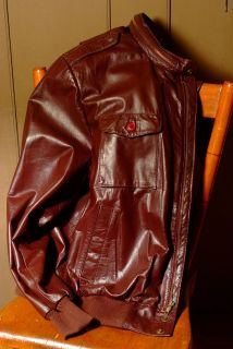 vintage leather flight jacket wep l2b ma1 type l nwot