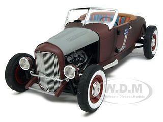 1929 ford rat rod harley davidson 1 18 by highway
