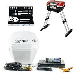 DISH Tailgater Portable Satellite TV & ViP Receiver Ultimate Tailgater