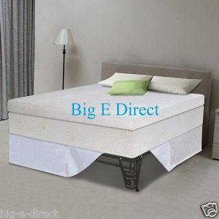 Therapy Pillow Top Pressure Relief Memory Foam Mattress Bed Frame Set