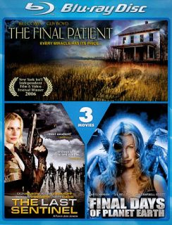 The Last Sentinel Final Days of Planet Earth The Final Patient Blu ray