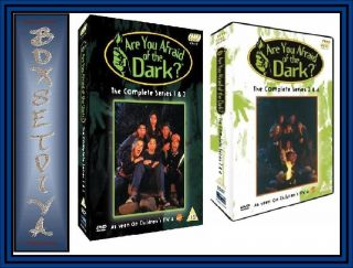 are you afraid of the dark complete series 1 2 3 4 from united kingdom