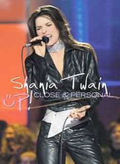 Shania Twain   Up Close and Personal (brand new factory sealed)