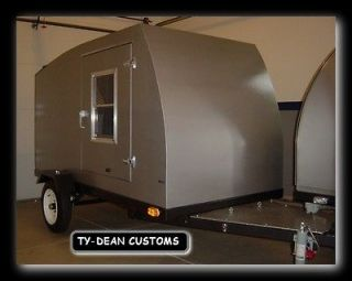 teardrop camper plans custom rv trailer plans time left $