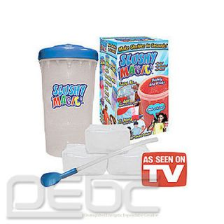 Slushy Magic Original As Seen On TV slush maker New Free shipping
