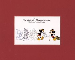 mickey mouse mat print suitcase shuffle  5