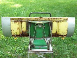 John Deere 42 Front Snow Plow Blade & Stainless Steel 54 Custom